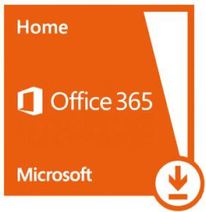 MICROSOFT OFFICE 365 HOME ESD 12KK