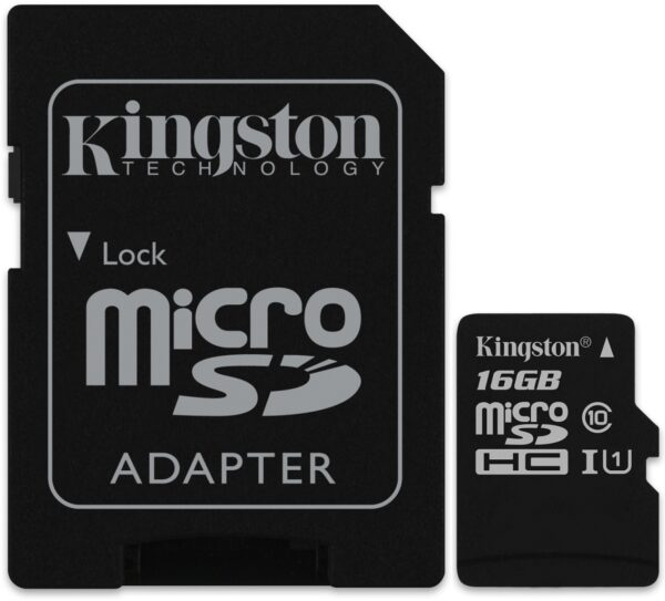 Kingston MicroSDHC Canvas Select 16GB Muistikortti