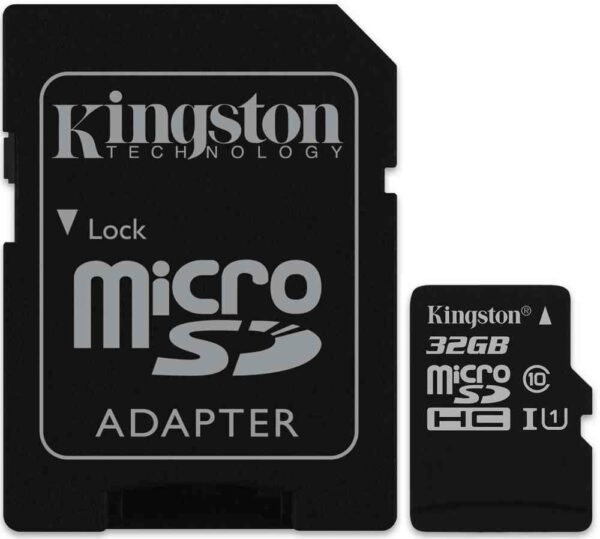 Kingston MicroSDHC Canvas Select 32GB Muistikortti