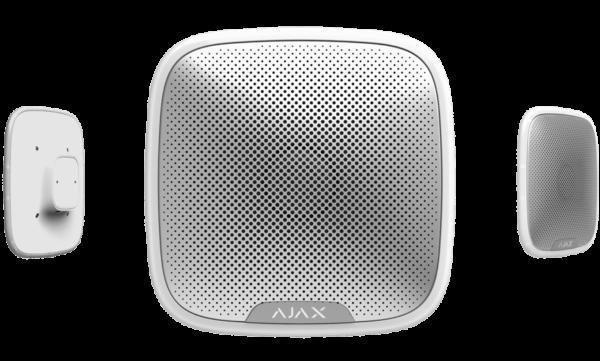 Ajax StreetSiren Ulkosireeni valkoinen