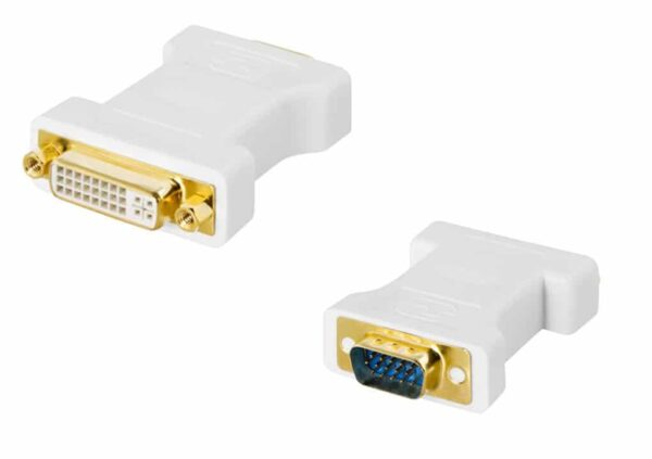 Deltaco DVI-A - VGA adapteri