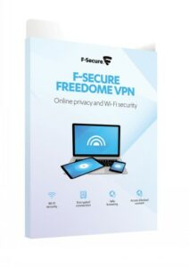 F-SECURE FREEDOME (1 YEAR / 5 DEVICES), E-KEY