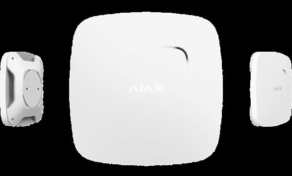 Ajax FireProtect Palohälytin valkoinen