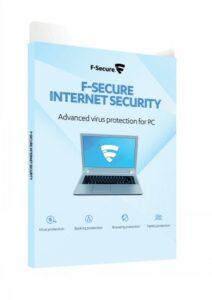F-SECURE INTERNET SECURITY (2Y/3PC) E-KEY